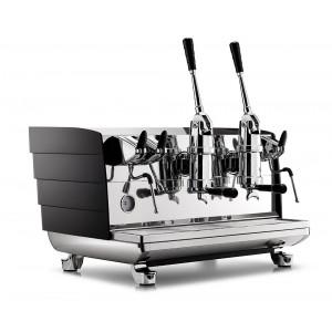 เครื่องชงกาแฟ 2 หัว คันโยก ขาว/ดำ รุ่น VA358
