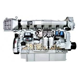 Zichai เครื่องยนต์ Marine Z6170ZLCZ-4